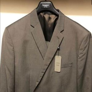 NEW Mens Haggar brown suit 52R WITH TAGS ON IT